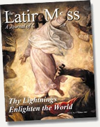 Latin Mass Magazine Summer 2003 Cover